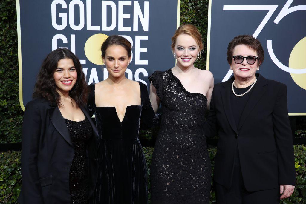 Protesto no Golden Globes 2018