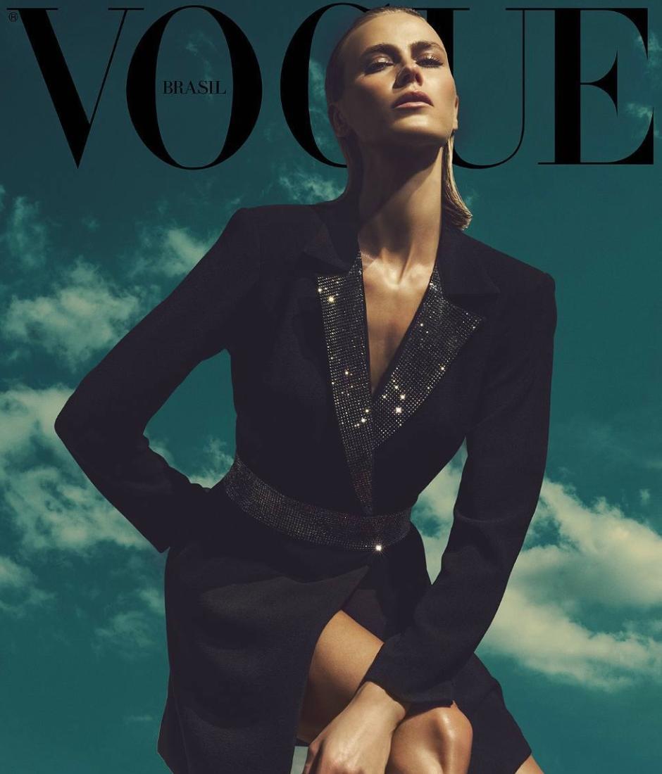 Capa da Vogue por Jacques Dequeker