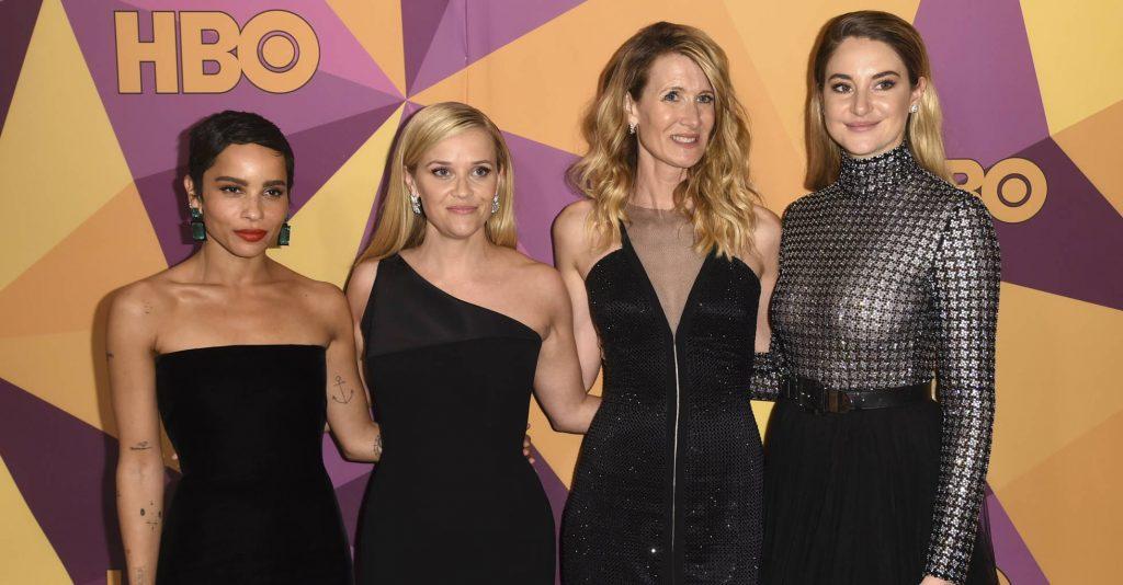 Atrizes foram ao Globo de Ouro vestidas de preto