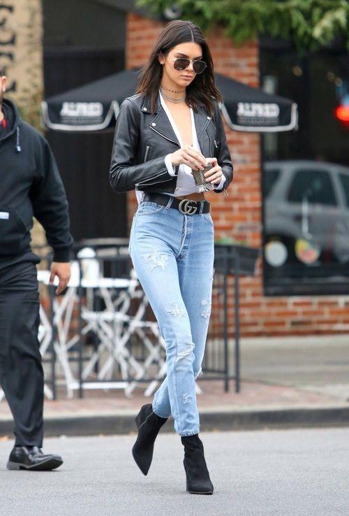 Kendal Jenner de mom jeans