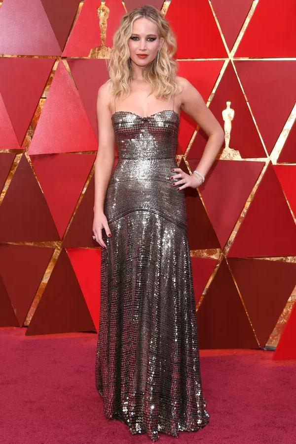 Jennifer Lawrence no Oscar