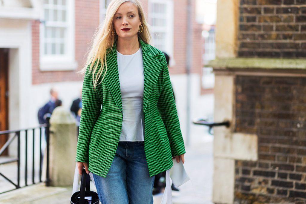 Blazer verde dá ar super cool