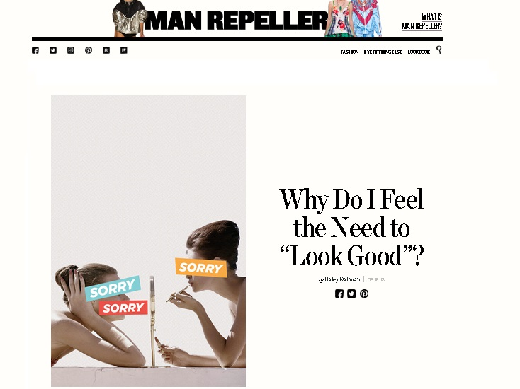 Post do Man Repeller: a moda não é feita para agradar o outro